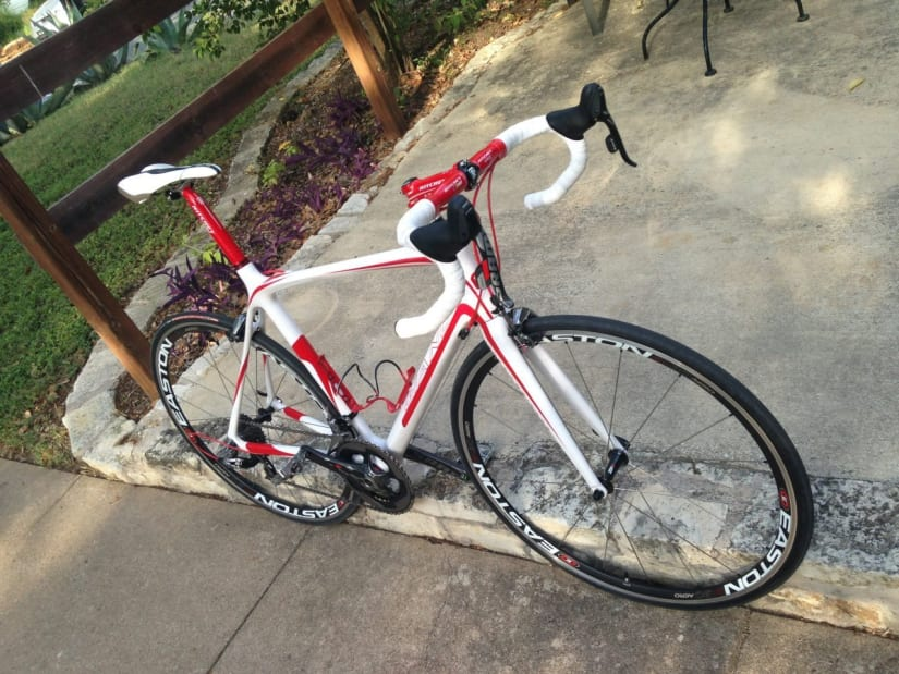 Custom Carbon Road Bike 56CM SRAM Red