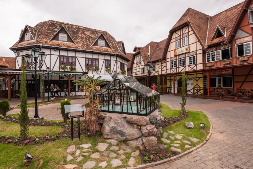 In the south of Brazil, find Germany in the town of Blumenau