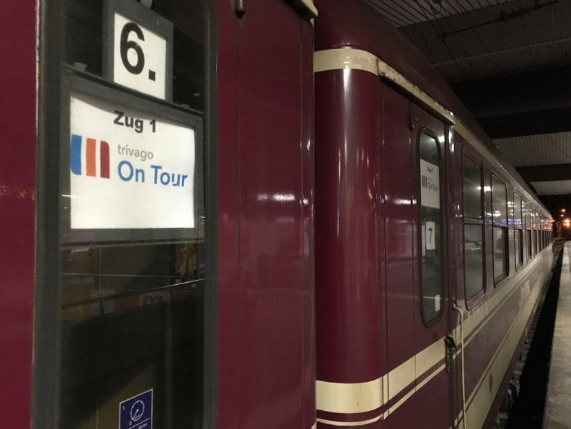 The trivago on Tour 2017 train