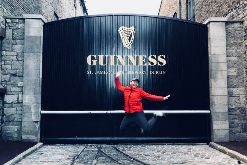 Visiting the Guinness Storehouse in Dublin