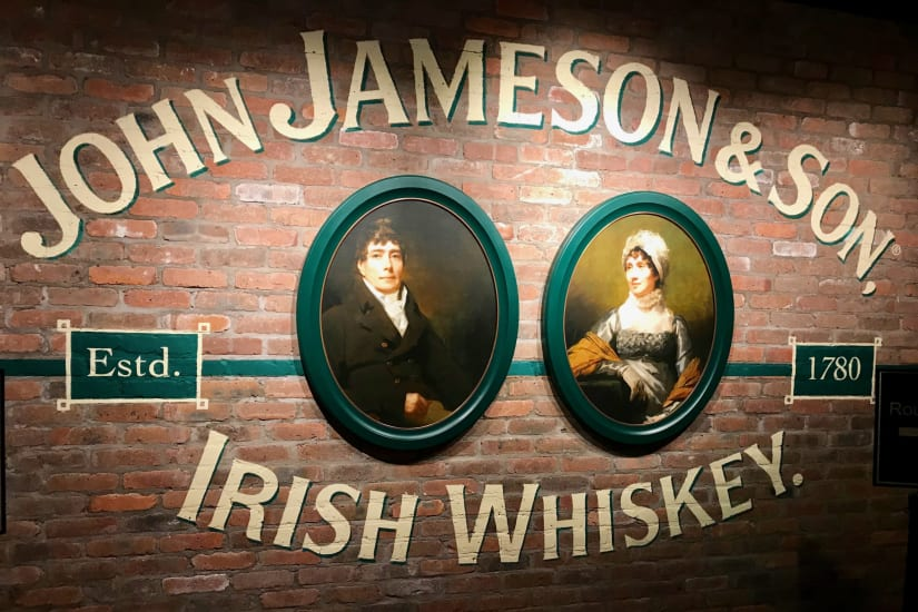 Jameson distillery tour and whiskey tasting experience in Dublin