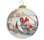 Julekule nisser og julegris