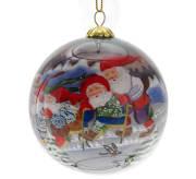 Julekule nisser på spark