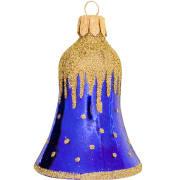 Bjelle Golden cap blå 6cm