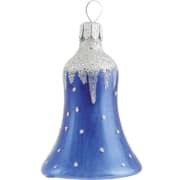 Bjelle Silver cap blå 6cm