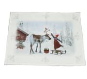Brikke Anja pynter reinsdyret