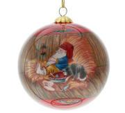Julekule nisse på låven