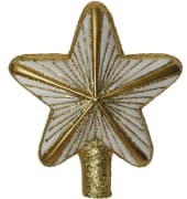 Stjerne hvit og gull