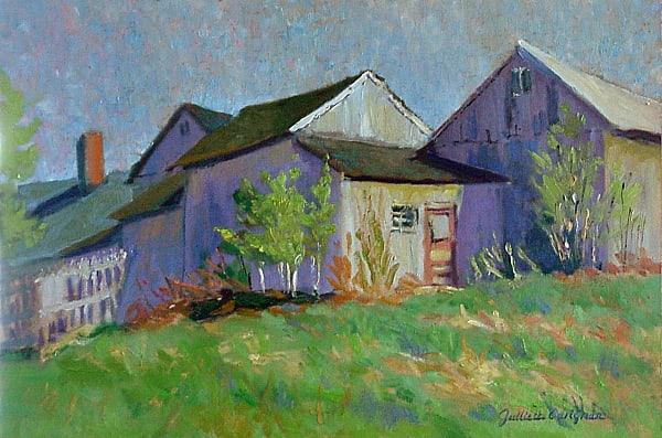 Crosby's Barns, VT. 12 x 18