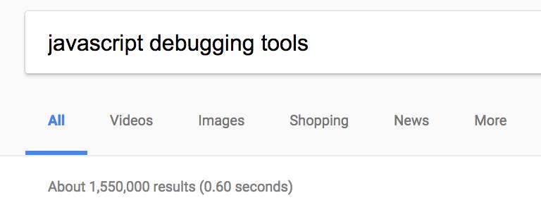 https://www.google.com/search?q=javascript+debugging+tools