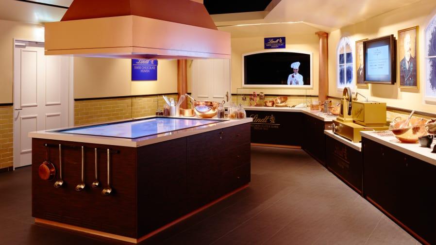 Jungfraujoch Lindt Swiss Chocolate Heaven Erlebnis Shopping