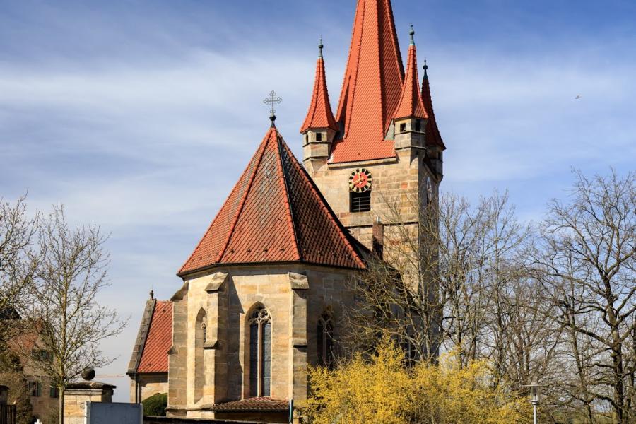 Matthäuskirche Heroldsberg - Bild 1
