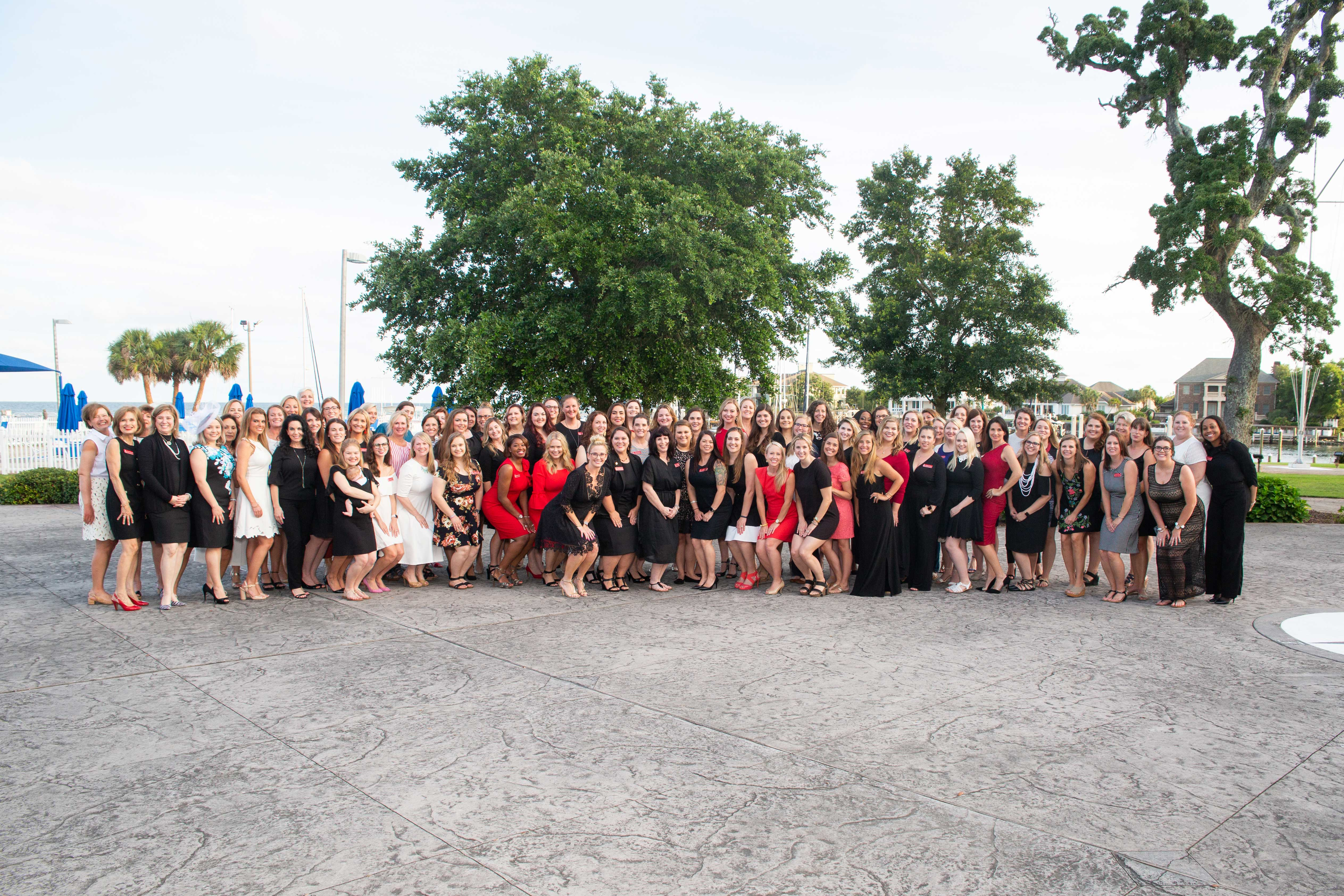 Membership picture from May Dinner 2018