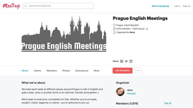 Prague English Meeting