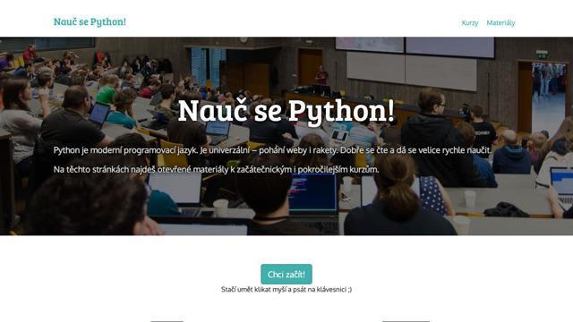 Nauč se Python!