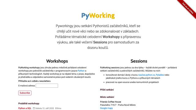PyWorking Sessions