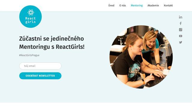 ReactGirls Mentoring