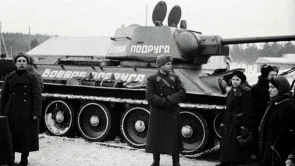История настоящей русской женщины, которая купила танк и отправилась из Томска на фронт мстить за мужа