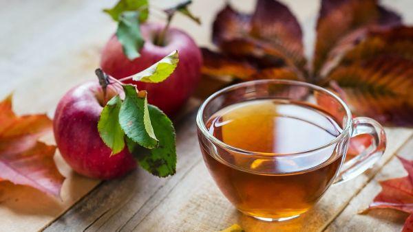 Яблоки и чай полезны для людей, злоупотребляющих алкоголем и табакокурением