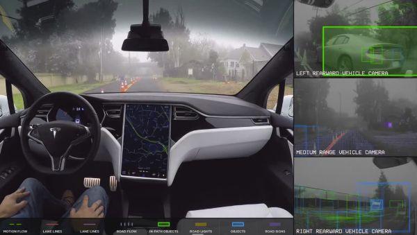 Как видит мир автопилот машины: ученые смоделировали необычное видео