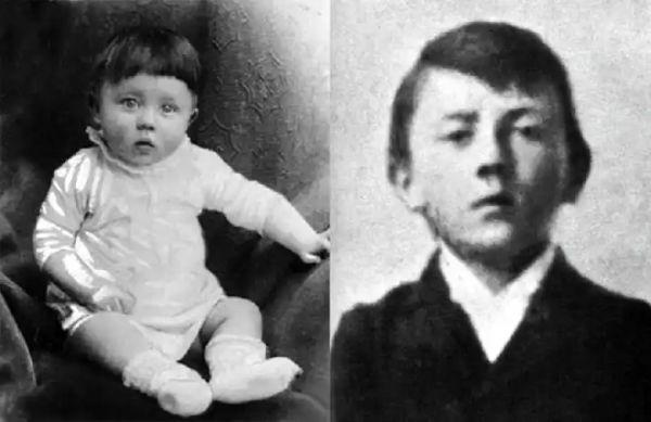 А вы узнаете этого мальчика на фото? Редкие фотографии Гитлера и его родителей, а также изменений его усов