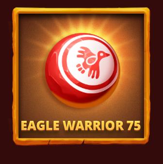 Eagle Warrior 75 Aztec Bingo