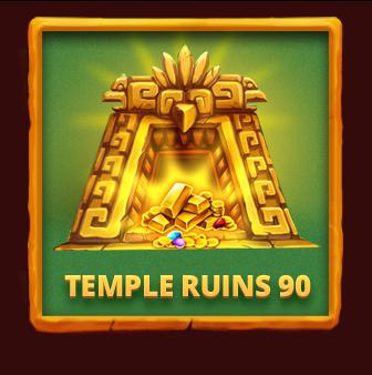 Temple Ruins 90 Aztec Bingo