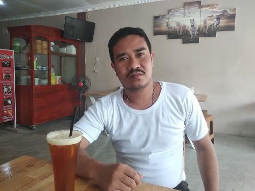 Ketua DPD Pekad IB Kabupaten Asahan, M. Syihabuddin