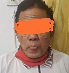 Pelaku SS alias Sedih yang sudah ditangkap Sat Reskrim Polres Siantar