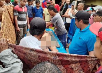 Jenajah Lulu Fernando Sidauruk dimandikan warga
