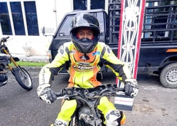 Alfredo Lubis atau Alfredo Kiteng salah satu pembalap Tim Bos Uncit SSRT