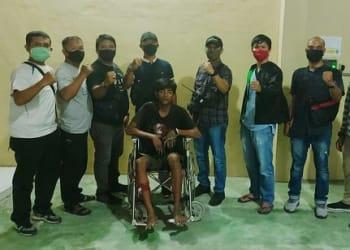 Pelaku ALM alias Lody alias Ody diapit Tim Opsnal Satres Krim Polres Tanjung Balai