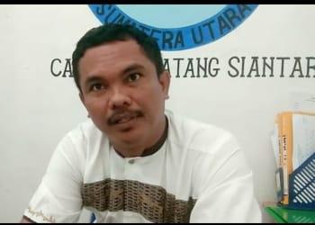 Kepala Forensik RSUD dr Djasamen Saragih Kota Siantar, dr Reinhard J.D Hutahean, SpF, MSi