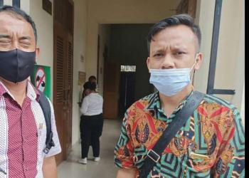Edi Sudma Sihombing, SH dan Rudi Malau, SH Tim Advokasi Sumut Watch