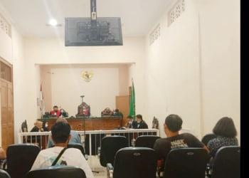 Sidang Agenda Pembacaan Pledoi Tim Kuasa Hukum Kedua Terdakwa Perkara Kecelakaan Kerja di PN Siantar