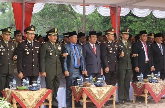 Kapolres Simalungun AKBP Heriberetus Ompusunggu, SIK, MSI hadiri upacara peringatan hari kesaktian Pancasila