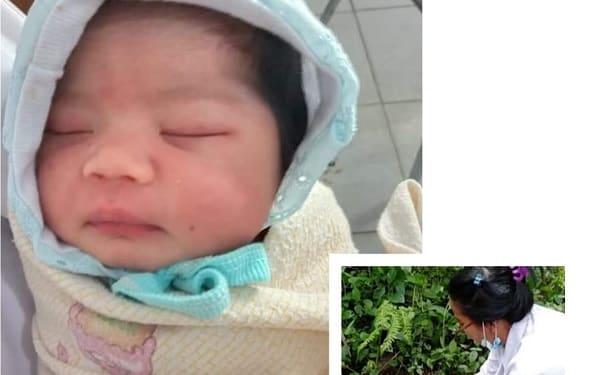 Bayi Perempuan yang ditemukan