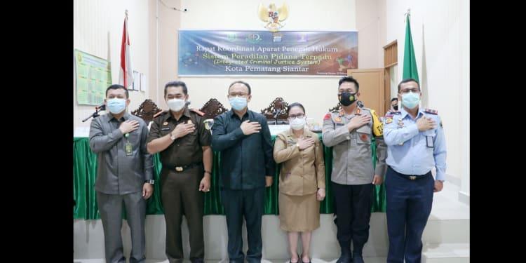 Para Pimpinan APH photo bersama usai Rakor