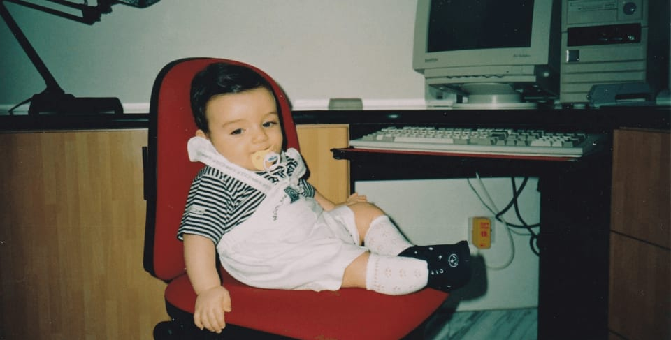 This is a photo of me when I was younger