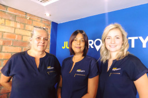 LOVING our New Just Property Shirts!