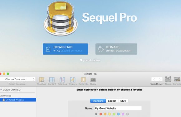 How to Install Sequel Pro on OSX and Connect with Database