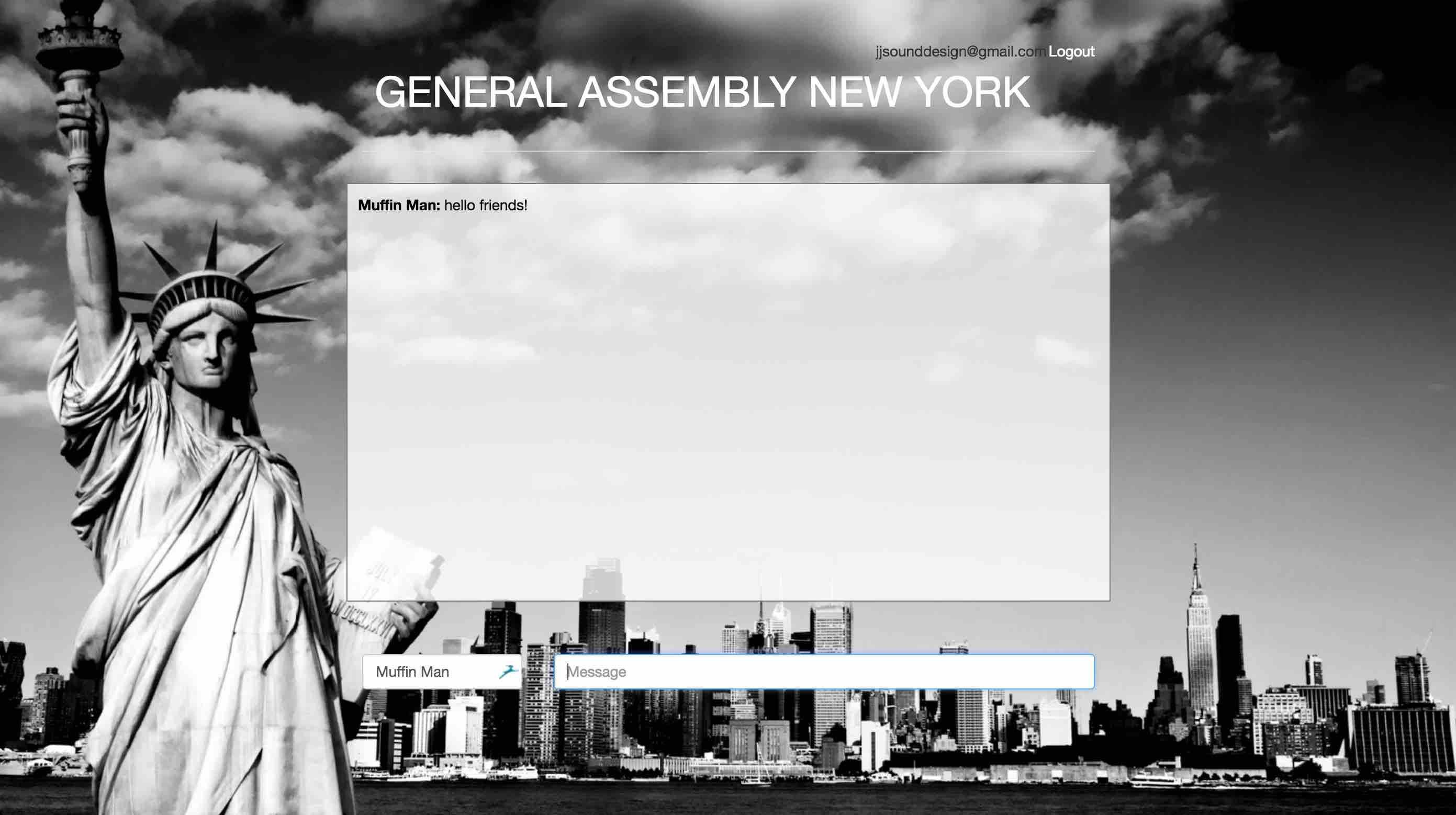 General Assembly Location Chat