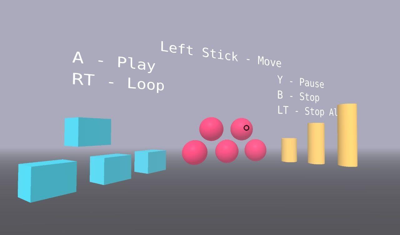 VR Music App