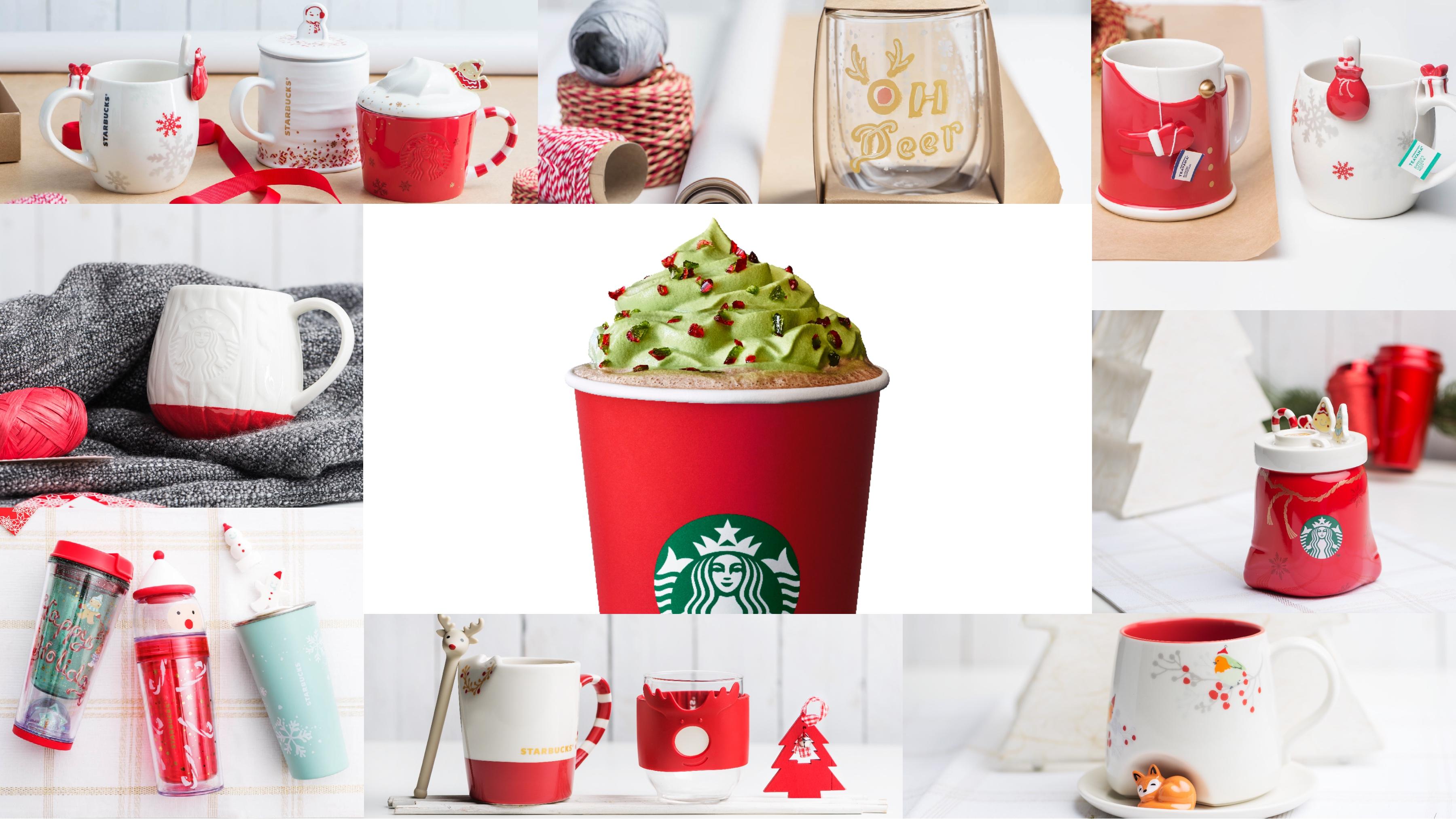 Tis the season to be jolly with Starbucks