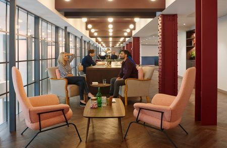 Modern Co-Working Meeting Space