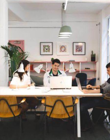 Scandinavian style meeting room