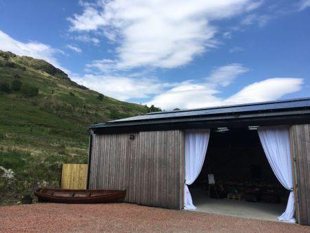 Rustic Romance in the Estate Barn The barn and esta