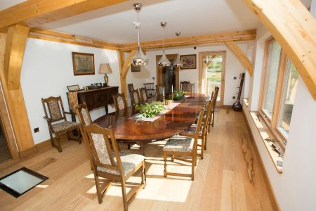 Carrick Castle Estate, Lodge & Barn Dining room for up to 16 guests