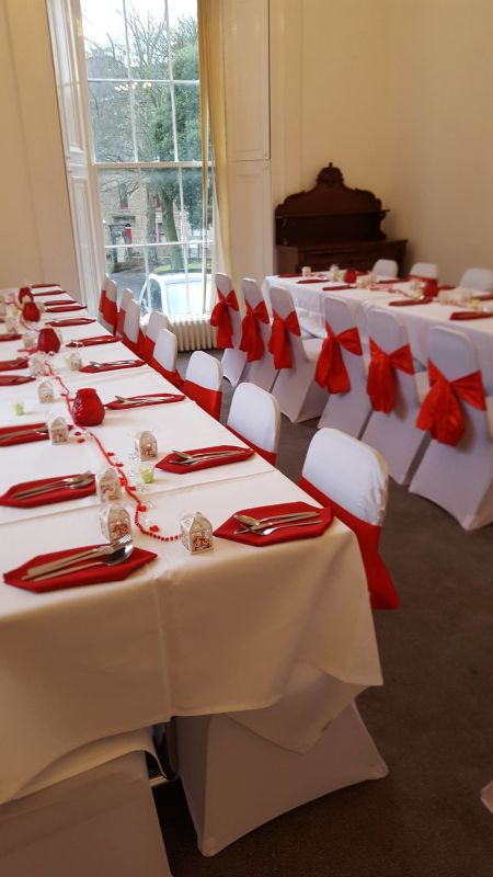 Georgian Town House Function Room Wedding Reception