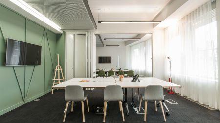 Large private boardroom